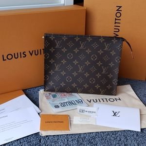 BRAND NEW Louis Vuitton Toiletry Pouch 26